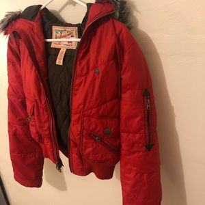Abra Comby and Fitch vintage ski jacket